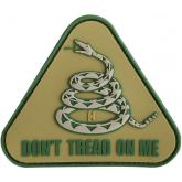 Maxpedition PVC Don't Tread on Me Patch, Arid
