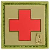 Maxpedition PVC 1 inch Medic Patch, Arid