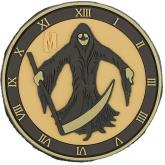 Maxpedition PVC Grim Reaper Patch, Arid