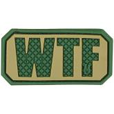 Maxpedition PVC WTF Patch, Arid