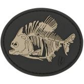 Maxpedition PIRAS PVC Piranha Bones Patch, SWAT