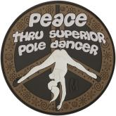 Maxpedition PTPDA PVC Pole Dancer Patch, Arid