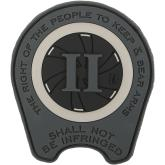 Maxpedition RTBAS PVC Right to Bear Arms Patch, SWAT