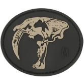 Maxpedition SBTHS PVC Sabertooth Skull Patch, SWAT