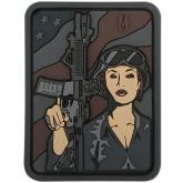 Maxpedition SDGLS PVC Soldier Girl Patch, SWAT