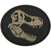 Maxpedition TREXS PVC T-Rex Skull Patch, SWAT