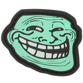 Maxpedition TRLFZ PVC Troll Face Patch, Glow