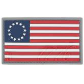 Maxpedition US76C PVC 1776 US Flag Patch, Color