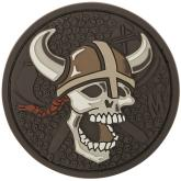 Maxpedition VKSKA PVC Viking Skull Patch, Arid
