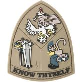 Maxpedition WANKA PVC Know Thyself Patch, Color