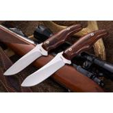Mercworx Excorio 4 inch S30V Fixed Blade, Ironwood Handle with Sheath