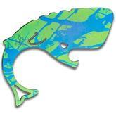 Moby Whalers Splatter Anodized 0.25 inch Thick Titanium Moby Whaler V3