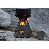 Mummert Knives Phoenix Wood-Burning Titanium Camp Stove