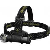 NITECORE HC30 LED Headlamp, Black Nylon Strap, 1000 Max Lumens