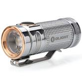 Olight S Mini Baton Cree XM-L2 LED Polished Titanium Flashlight, 550 Max Lumens