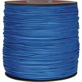 550 Micro Cord, Blue, Nylon Braided, 1,000 Feet x 1.18 mm