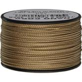 550 Nano Cord, Tan, Nylon Braided, 300 Feet x 0.75 mm