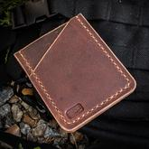 Enrique Pena Custom Leather Front Pocket Organizer with Pen Slot