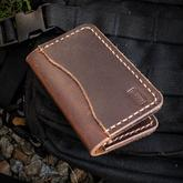 Enrique Pena Custom Leather Front Pocket Organizer