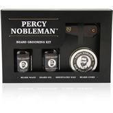 Percy Nobleman Beard Grooming Kit, 30ml Eye Dropper Bottles, Wax and Mustache Comb