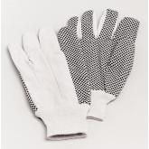 PhysiciansCare Brand Dotted Poly-Cotton Gloves
