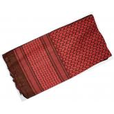 Red Rock Outdoor Gear Shemagh Head Wrap, Red/Black