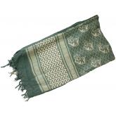 Red Rock Outdoor Gear Shemagh Head Wrap, Olive Drab/Tan Wild Hog