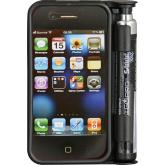 Sabre Smart Guard Pepper Spray iPhone 3 and 4 Case, Black