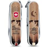 Victorinox Swiss Army Contest Classic SD Limited Edition 2016 Multi-Tool, The Mountains Are Calling, 2.25 inch Closed