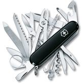 Victorinox Swiss Army SwissChamp Multi-Tool, Black, 3.58 inch Closed