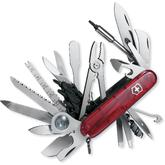 Victorinox Swiss Army SwissChamp XLT Multi-Tool, Translucent Ruby, 3.58 inch Closed