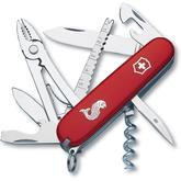 Victorinox Swiss Army Angler Multi-Tool, Red, 3.58 inch Closed
