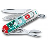 Victorinox Swiss Army Classic SD Limited Edition Multi-Tool, Sea World, 2.25 inch Closed