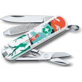 Victorinox Swiss Army Classic SD Limited Edition Multi-Tool, They'll Grow Deer, 2.25 inch Closed