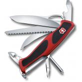 Victorinox Swiss Army RangerGrip 58 Hunter Multi-Tool 5-1/8 inch Red Handles with Black Rubber Inserts