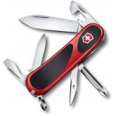 Victorinox Swiss Army 2.4803.C EvoGrip 11 Multi-Tool 3-3/8 inch Red Handles with Black Rubber Inserts