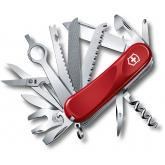 Victorinox Swiss Army Evolution 28 Multi-Tool 3-3/8 inch Red Handles (2.5383.EUS2)