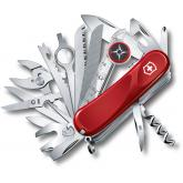 Victorinox Swiss Army EvoGrip S54 Toolchest Plus Multi-Tool 3-1/4 inch Red and Black Handles (2.5393.SEUS2)