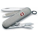 Victorinox Swiss Army Classic SD Multi-Tool, Barley Corn Silver, 2-1/4 inch Closed