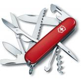 Victorinox Swiss Army Huntsman Multi-Tool, Red, 3.58 inch Closed