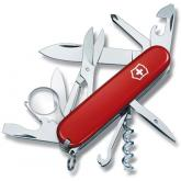 Victorinox Swiss Army Explorer Multi-Tool, 3-1/2 inch Red Handles
