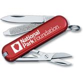 Victorinox Swiss Army Red National Park Classic SD Multi-Tool, 2.25 inch Closed