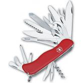 Victorinox Swiss Army Workchamp XL Multi-Tool, 4.37 inch Red Handles