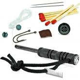 Smith & Wesson Fire Starter with Survival Kit, Compass, Matches, Fishing Line and Hooks