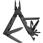 SOG B66N PowerAssist Multi-Tool with Assisted Blades, Black Oxide, Nylon Sheath