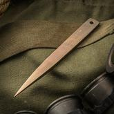 Strider Knives LM Nail Fixed PD-1 Bronze Blade, 6.25 inch Overall, Kydex Sheath