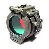 SureFire FM35 Red Filter for 1.25 inch Bezel - Z2 C2 C3 G2Z G2 6P 9P