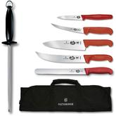 Victorniox Swiss Army Master Competition BBQ 7 Piece Set, Red