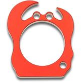 tactikOwl 0.37 inch Thick Red Hermit the Crab Aluminum Bottle Opener
