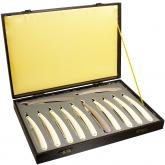 Thiers-Issard Limited Edition La Legende 1886 Feston Straight Razor Set with Case